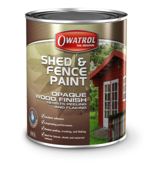 Shed & Fence Paint from Owatrol
