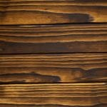 Charred Accoya cladding swatch in finish Tenki