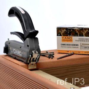 CAMO - Hidden deck fastening system