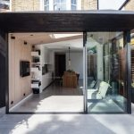 Charred Kebony cladding used on a beautiful London home