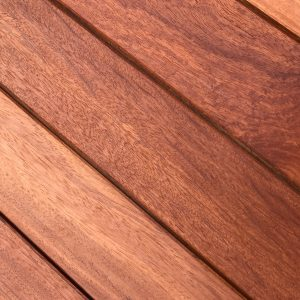 Doussie Exterpark Hardwood Decking swatch