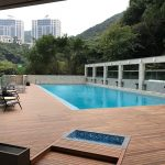 Ipe Exterpark Hardwood Decking used as a pool deck