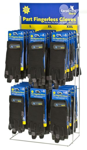 Carpenter Mate Glove Display