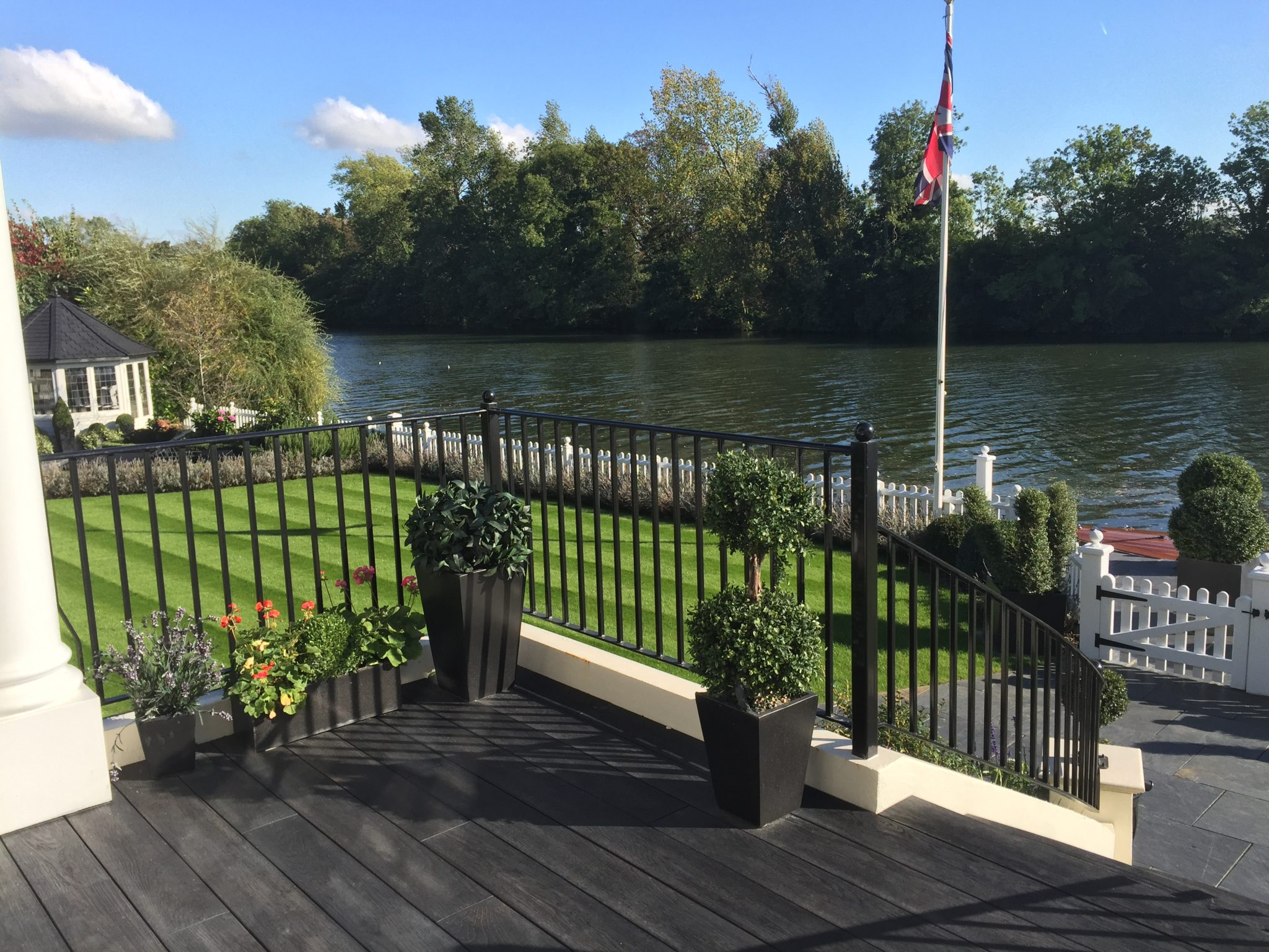 Millboard carbonised decking boards exterior solutions