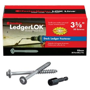 LedgerLOK Deck Ledger Fastener