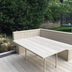 Millboard decking limed oak