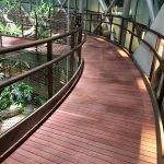 Kurupay Exterpark Hardwood Decking used on a walkway