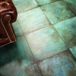 Trace tiles in the finish Mint