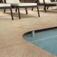 Roxstones poolside ceramic tiles