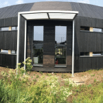 Swann Edwards Office with Charred Larch Cladding