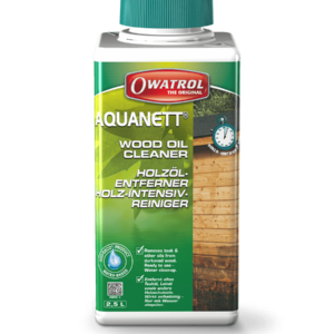 Owatrol Aquanett Packaging - Wood oil Cleaner