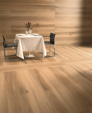 wood effect floor and wall tiles