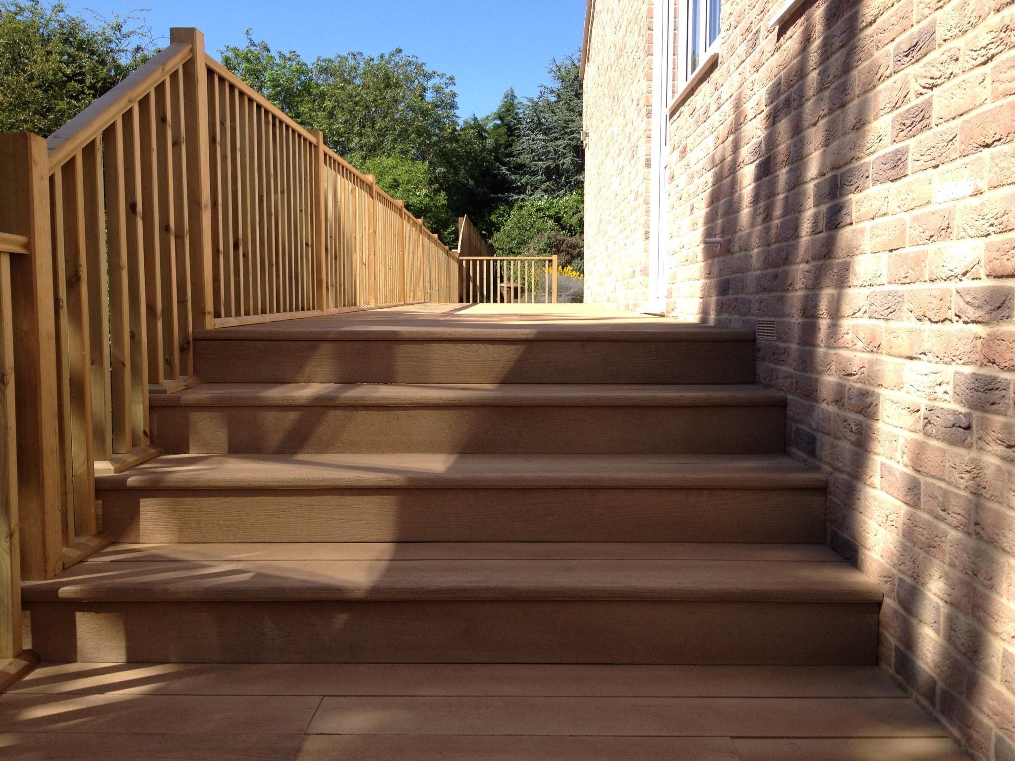 Millboard bullnose standard step edge exterior solutions