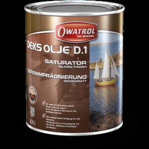 Owatrol D1 Deks Olje Wood Oil