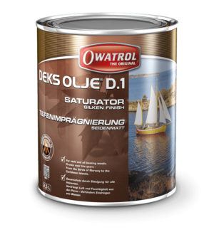 Owatrol D1 Deks Olje Wood Oil