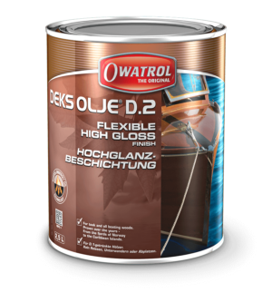 Owatrol Deks Olje D2 packaging