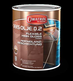 Owatrol Deks Olje D2 packaging