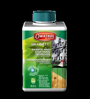 Owatrol Dilunett packaging