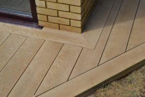 Millboard standard square edge fascia board