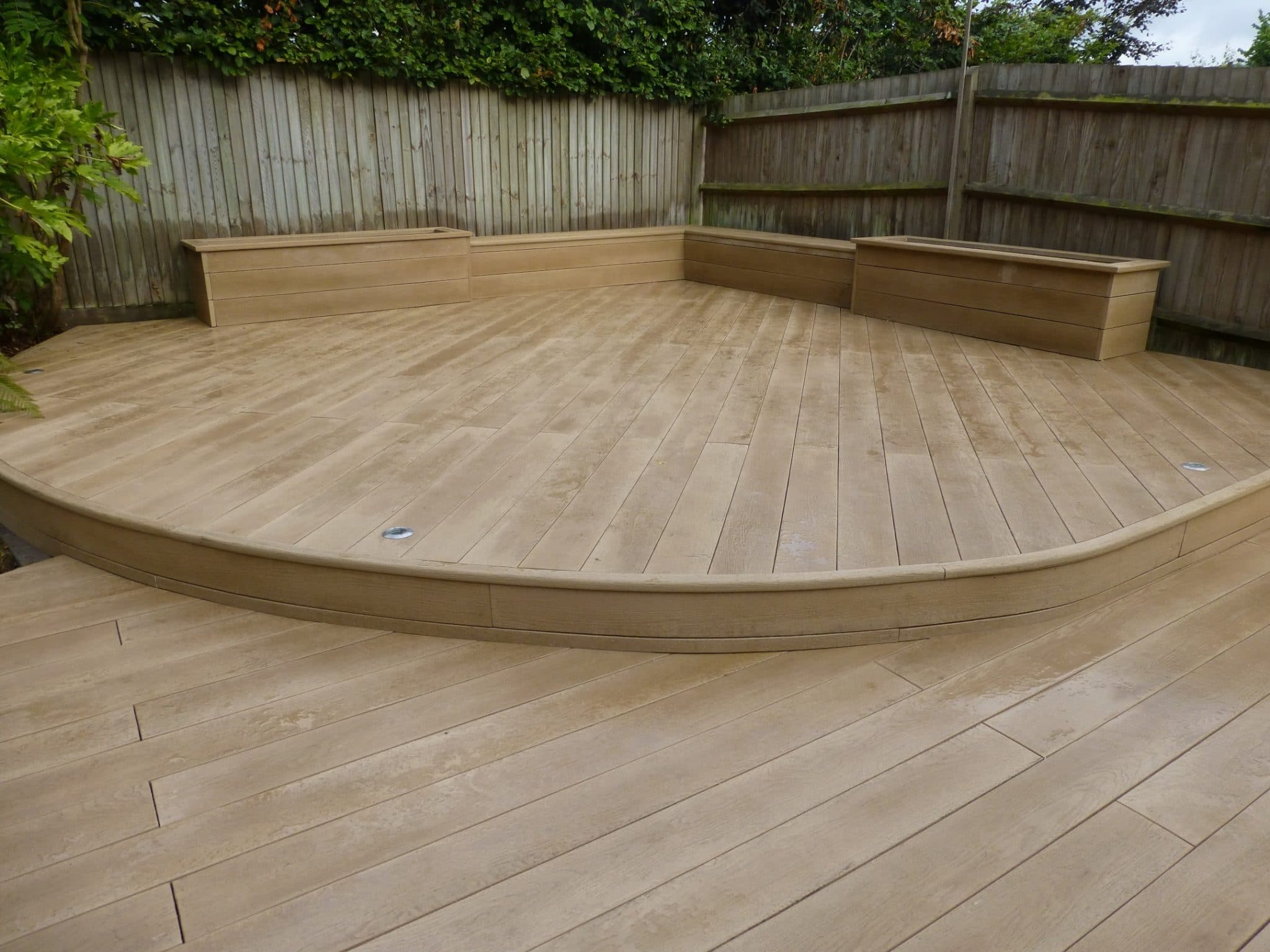 Millboard bullnose flexible step edge exterior solutions