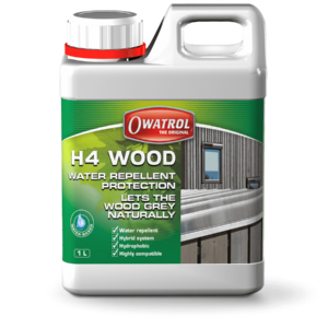 Owatrol H4 wood packaging