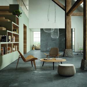 Inner interior tiles used in a residential setting