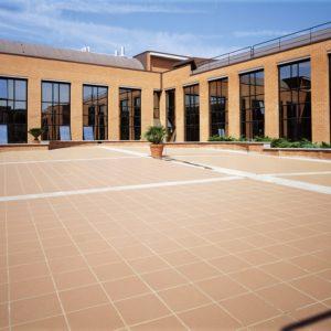 Granigliati tiles used in a commercial setting