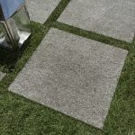 Extra.C Exterior stepping stone tiles in a garden