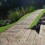 Millboard Vintage Decking used as walkway