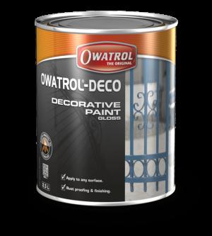 Owatrol Deco packaging