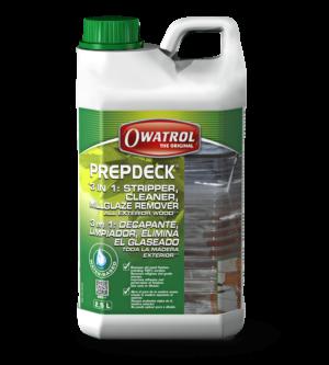 Owatrol Prepdeck Packaging 2016