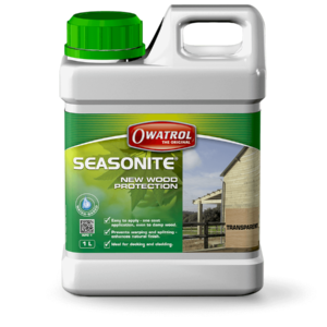 Owatrol Seasonite Packaging - New wood protection