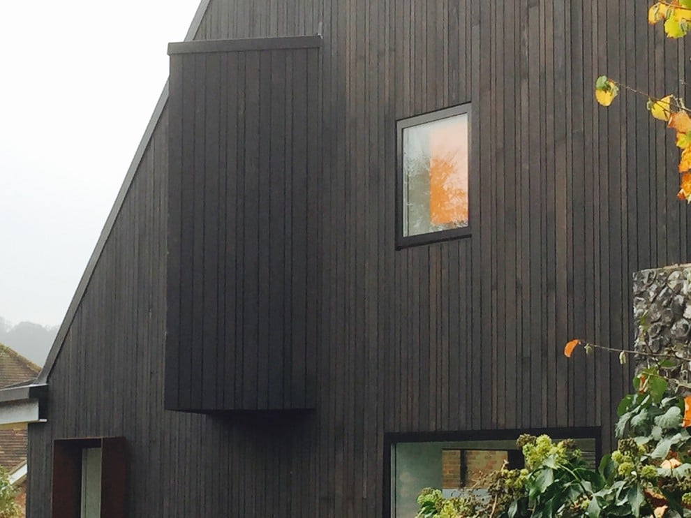 Charred Timber Cladding Shou Sugi Ban 174 Exterior Solutions