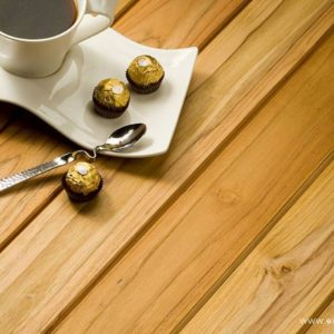 Rustic teak exterpark hardwood decking