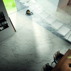 marble-effect tiles