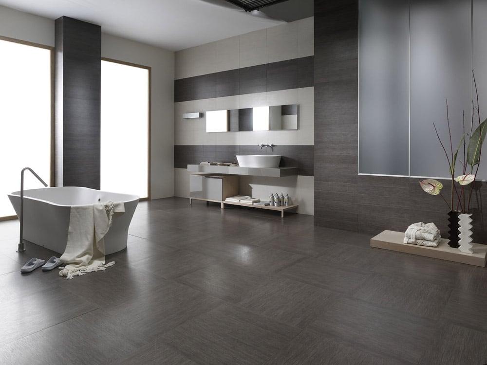Interior Ceramic tiles Bagno used in a bathroom setting