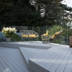 Karl Harrison Designs Accoya® Decking with Exterpark Magnet System for an Ugly House