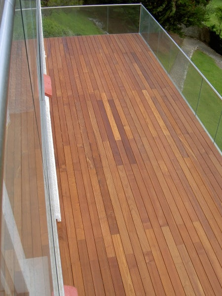 Owatrol products used to finish a deck