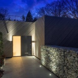 Oak Hill house finished with grey cladding made from Kebony