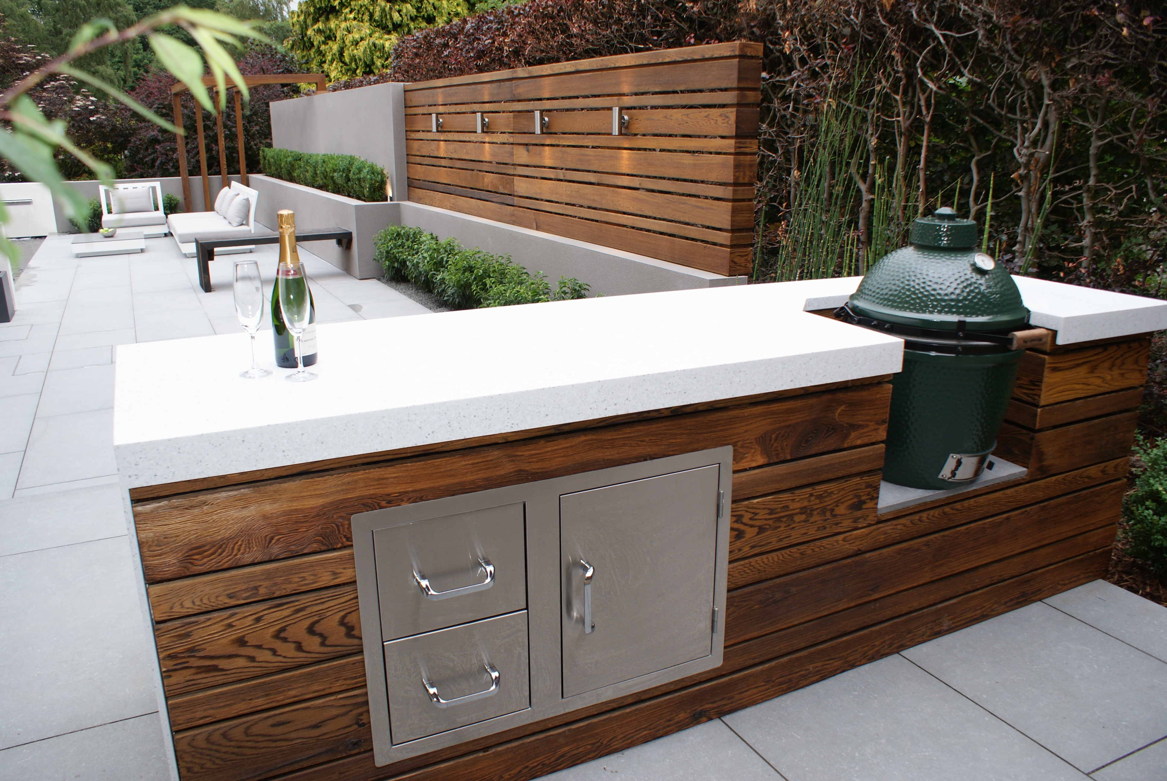 Hannah Collins Uses Shou Sugi Ban® in her Latest Beautiful Garden