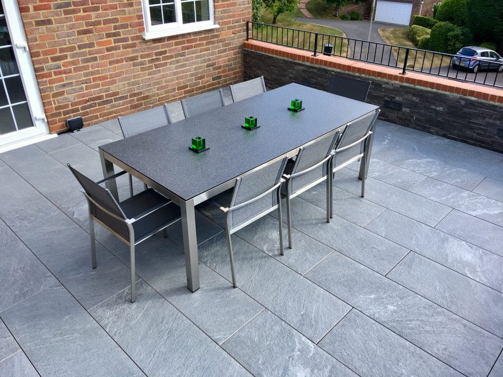 Porcelain Tiles used for Garden Terrace