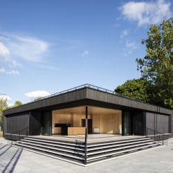 Architects transform Eton college pavillion