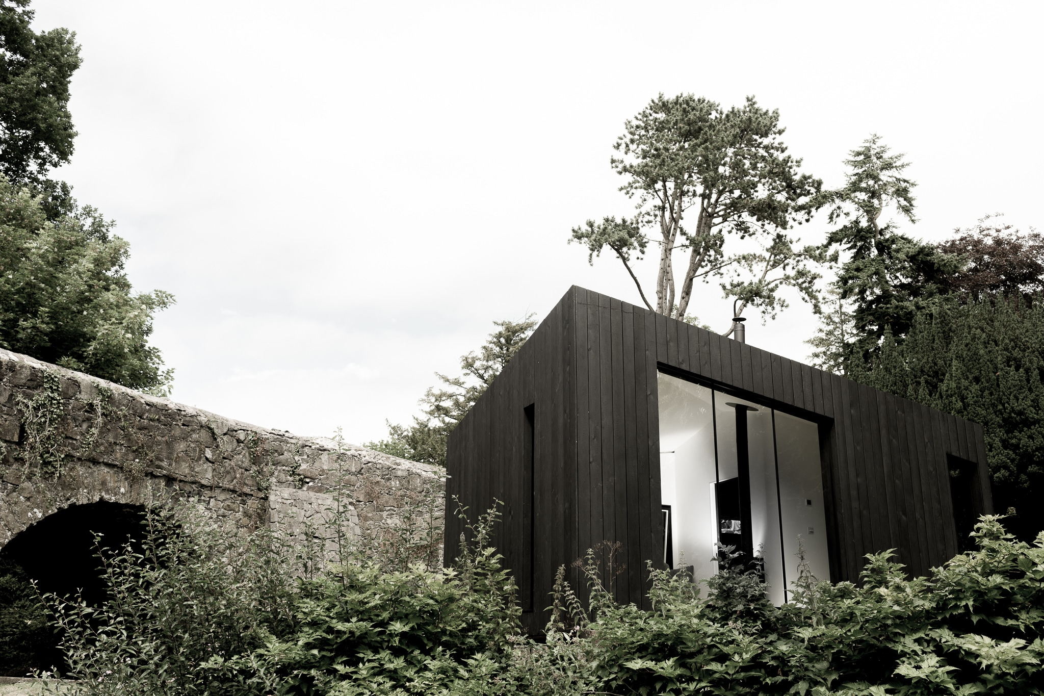 Koto Cabin with Charred Timber Cladding