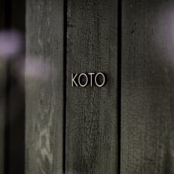 Koto Cabin Door