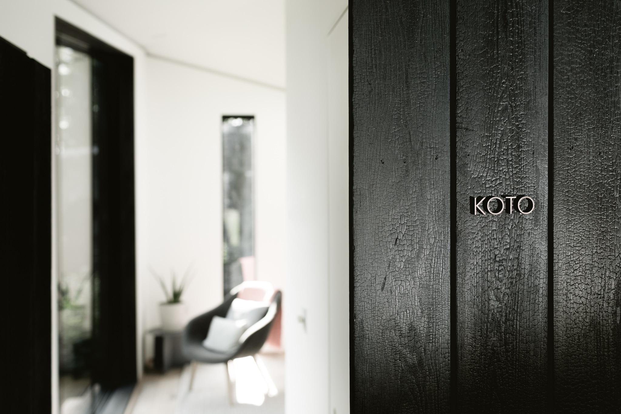 Koto Cabin uses Shou Sugi Ban
