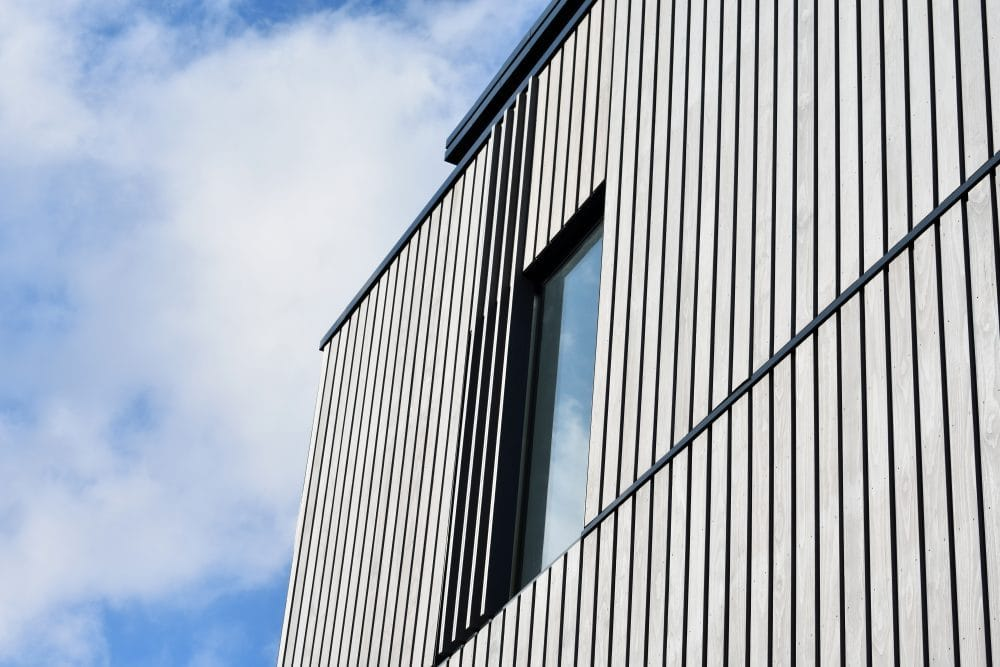 Grey Enhanced Grain Kebony Cladding