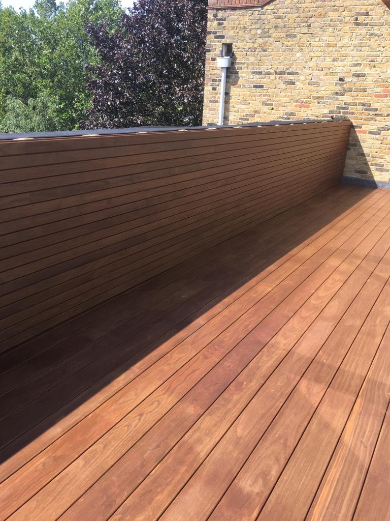 Installed and Finished Decking & Cladding