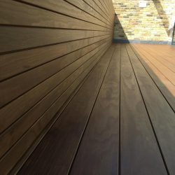 Kebony Magnet Timber decking before wood oil