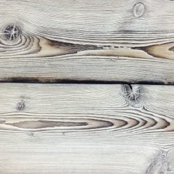 White burnt Siberian Larch Close up of finish