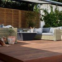 kebony decking terrace